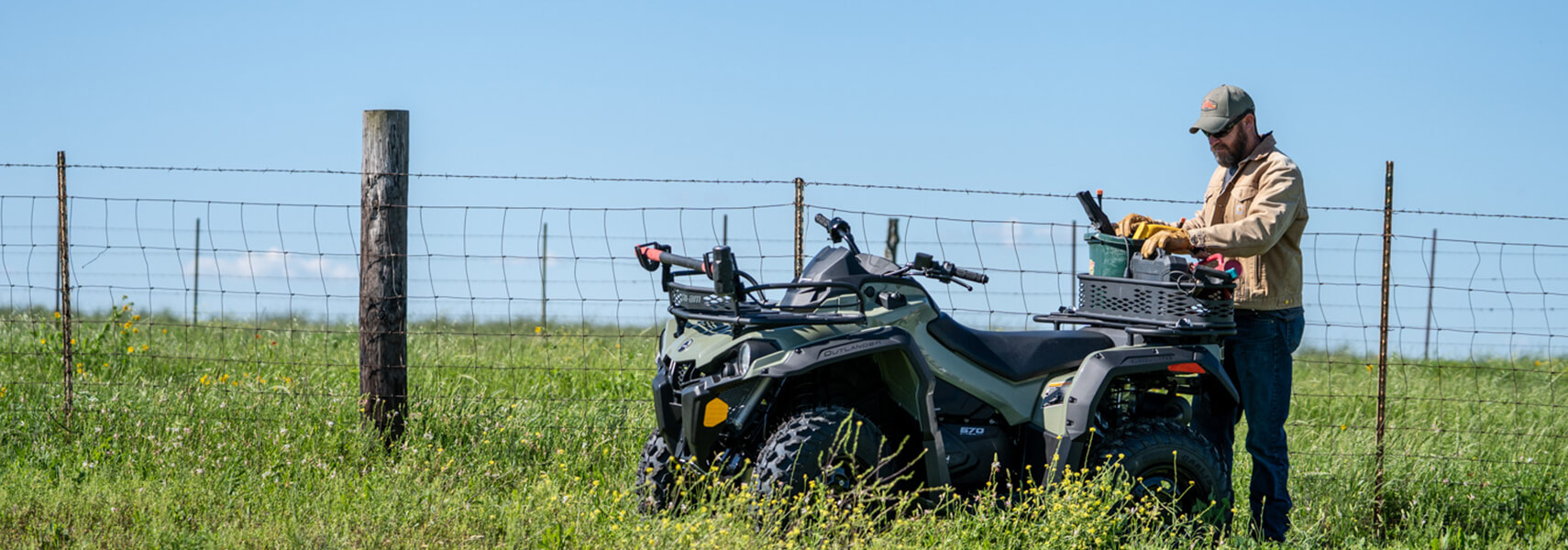 Can-Am ATV - 2020 OUTLANDER 450 / 570 T