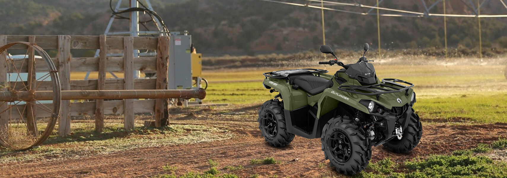 Can-Am ATV - 2020 OUTLANDER PRO+ 450 T