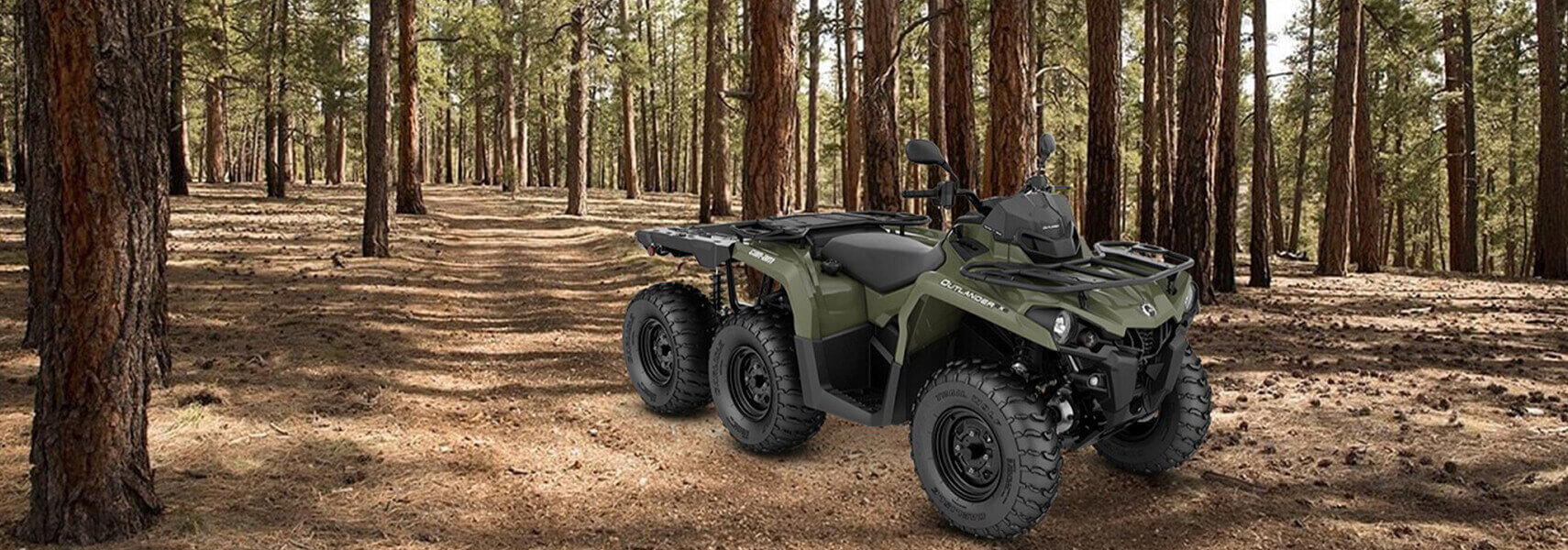 Can-Am ATV - 2020 OUTLANDER 6X6 450 T