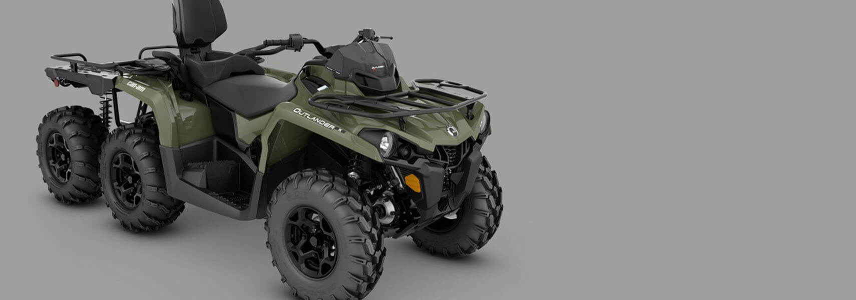 Can-Am ATV - 2020 OUTLANDER 6X6 PRO + 450 T