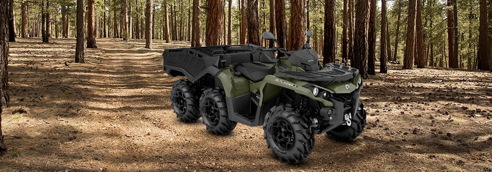 Can-Am ATV - 2020 OUTLANDER MAX 6X6 PRO+ 650 T
