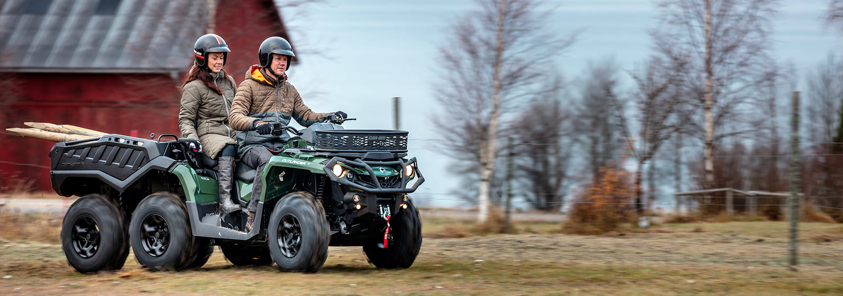 Can-Am ATV - 2021 OUTLANDER MAX 6X6 XU+ 650/1000 T